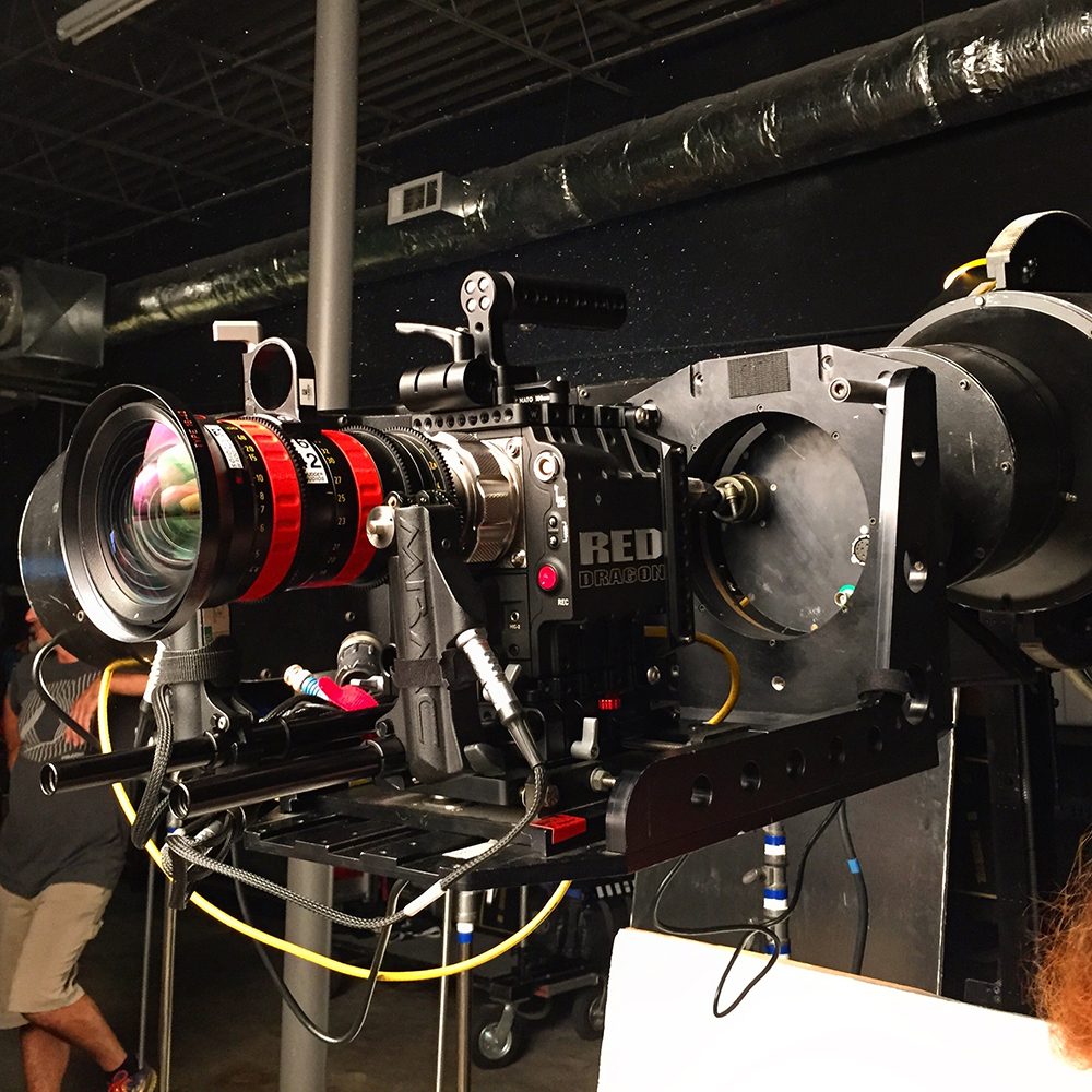 Dragon meets Angenieux...