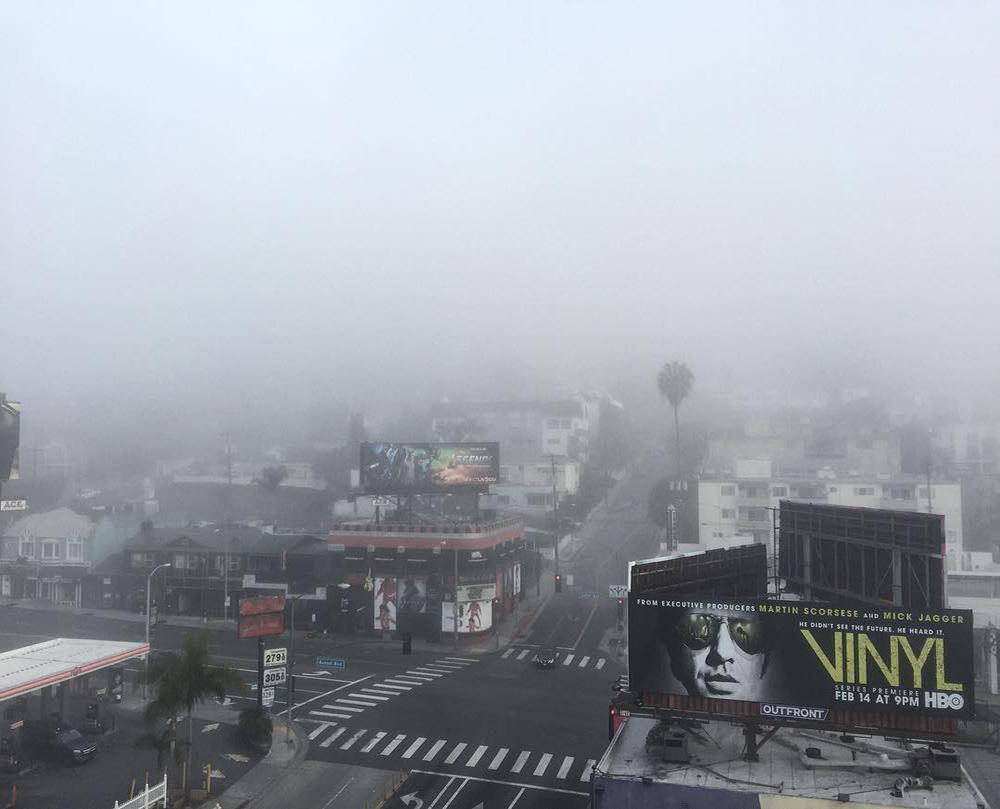 A tad foggy...
